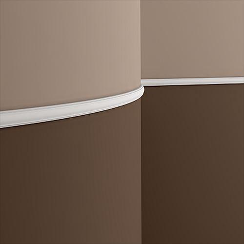 Wand- und Friesleiste PROFHOME 151379F Stuckleiste Flexible Leiste Zierleiste Neo-Klassizismus-Stil weiß 2 m – Bild 2