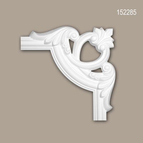 Eckelement PROFHOME 152285 Zierelement Zeitloses Klassisches Design weiß – Bild 1