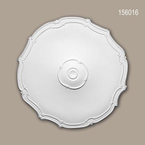 Rosette PROFHOME 156016 Zierelement Deckenelement Jugendstil weiß – Bild 1