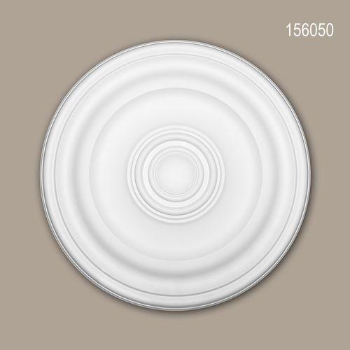 Rosette PROFHOME 156050 Zierelement Deckenelement Zeitloses Klassisches Design weiß – Bild 1