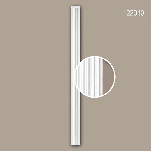 Pilaster Schaft PROFHOME 122010 Zierelement Neo-Klassizismus-Stil weiß – Bild 1