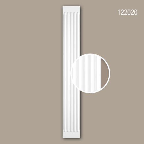 Pilaster Schaft PROFHOME 122020 Zierelement Neo-Klassizismus-Stil weiß – Bild 1