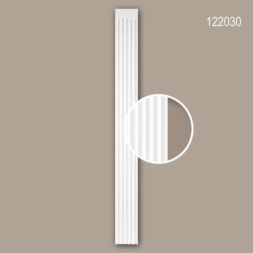 Pilaster Schaft PROFHOME 122030 Zierelement Neo-Klassizismus-Stil weiß – Bild 1