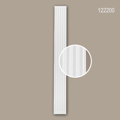 Pilaster Schaft PROFHOME 122200 Zierelement Neo-Klassizismus-Stil weiß – Bild 1