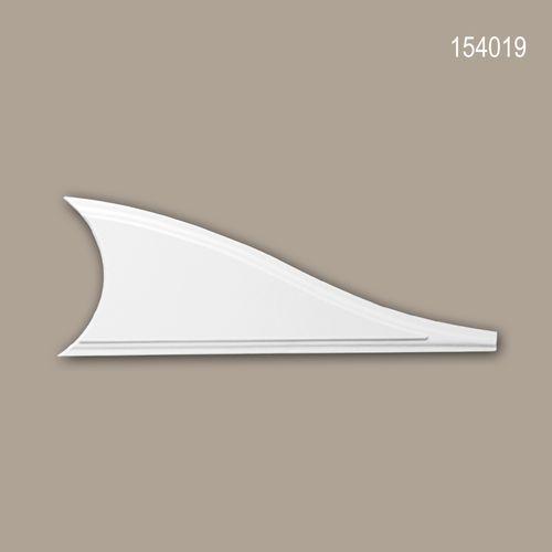 Zierelement PROFHOME 154019 Türumrandung Neo-Klassizismus-Stil weiß – Bild 1