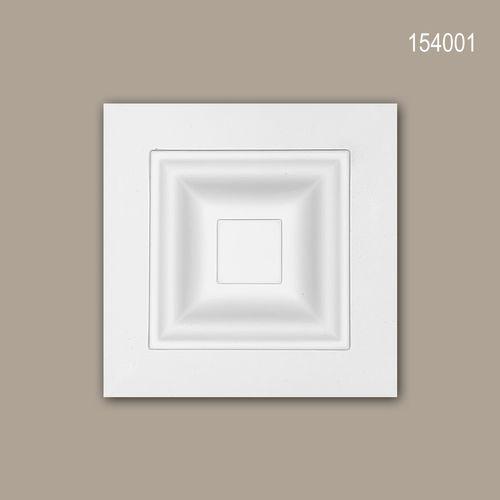 Zierelement PROFHOME 154001 Türumrandung Modernes Design weiß – Bild 1