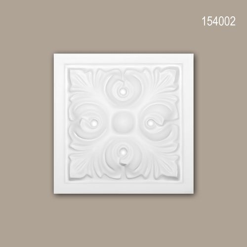 Zierelement PROFHOME 154002 Türumrandung Zeitloses Klassisches Design weiß – Bild 1