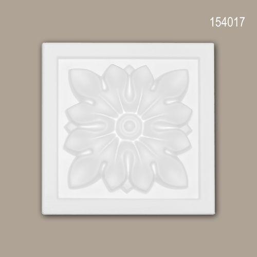 Zierelement PROFHOME 154017 Türumrandung Zeitloses Klassisches Design weiß – Bild 1