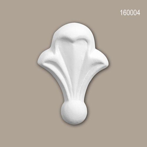 Zierelement PROFHOME 160004 Zeitloses Klassisches Design weiß – Bild 1