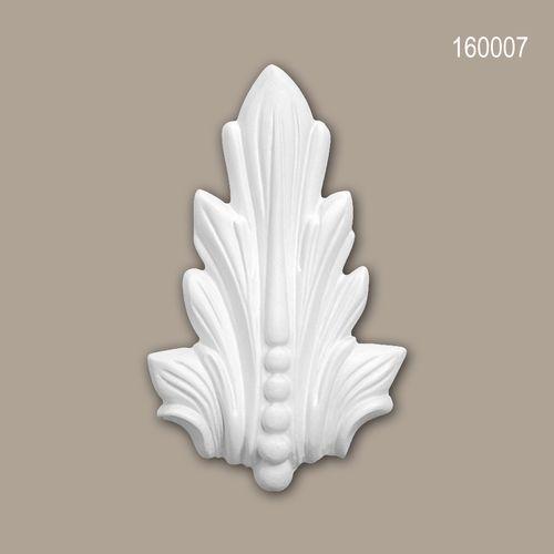 Zierelement PROFHOME 160007 Zeitloses Klassisches Design weiß – Bild 1