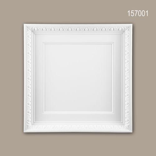 Deckenplatte PROFHOME 157001 Deckenelement Wandpaneel Neo-Empire-Stil weiß – Bild 1