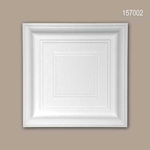 Deckenplatte PROFHOME 157002 Deckenelement Wandpaneel Modernes Design weiß – Bild 1