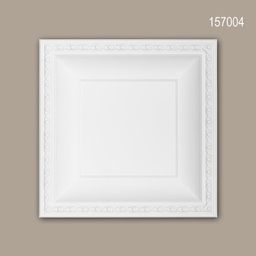 Deckenplatte PROFHOME 157004 Deckenelement Wandpaneel Neo-Empire-Stil weiß – Bild 1