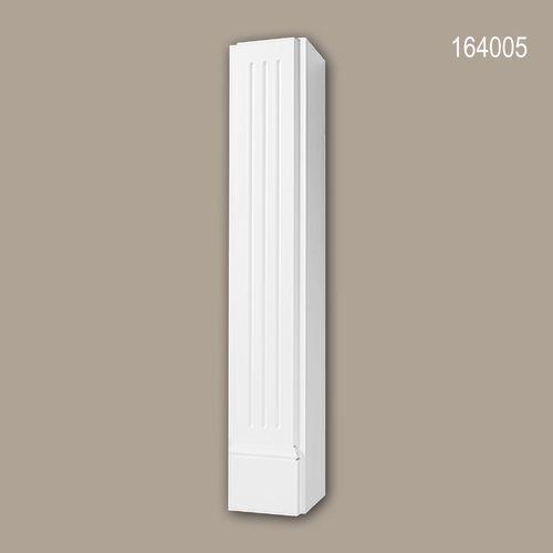 Dekorativer Kamin PROFHOME 164005 Zierelement Zeitloses Klassisches Design weiß – Bild 1