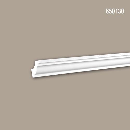 Eckleiste PROFHOME 650130 Stuckleiste Zierleiste stoßfest Neo-Klassizismus-Stil weiß 2 m – Bild 1