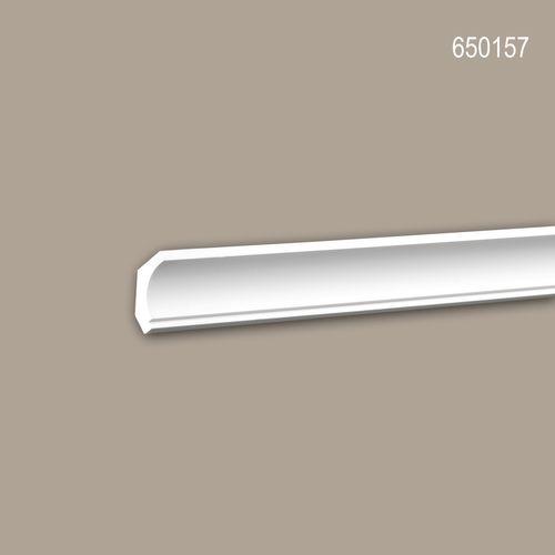 Eckleiste PROFHOME 650157 Stuckleiste Zierleiste stoßfest Neo-Klassizismus-Stil weiß 2 m – Bild 1