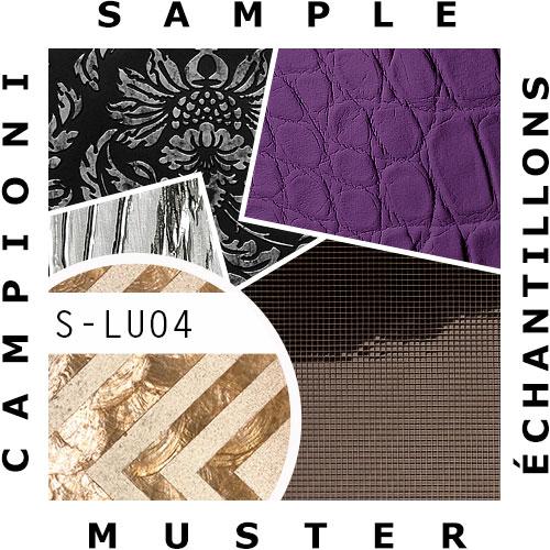 1 MUSTERSTÜCK S-LU04 WallFace CAPIZ Glasperlen und Muscheln Dekorpaneel | MUSTER in ca. DIN A5 Größe – Bild 2