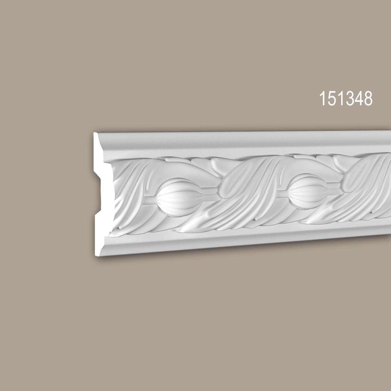 MUESTRA Moldura para pared Moldura decorativa Longitud aprox 10 cm 1 PIEZA DE MUESTRA S-151345 Profhome
