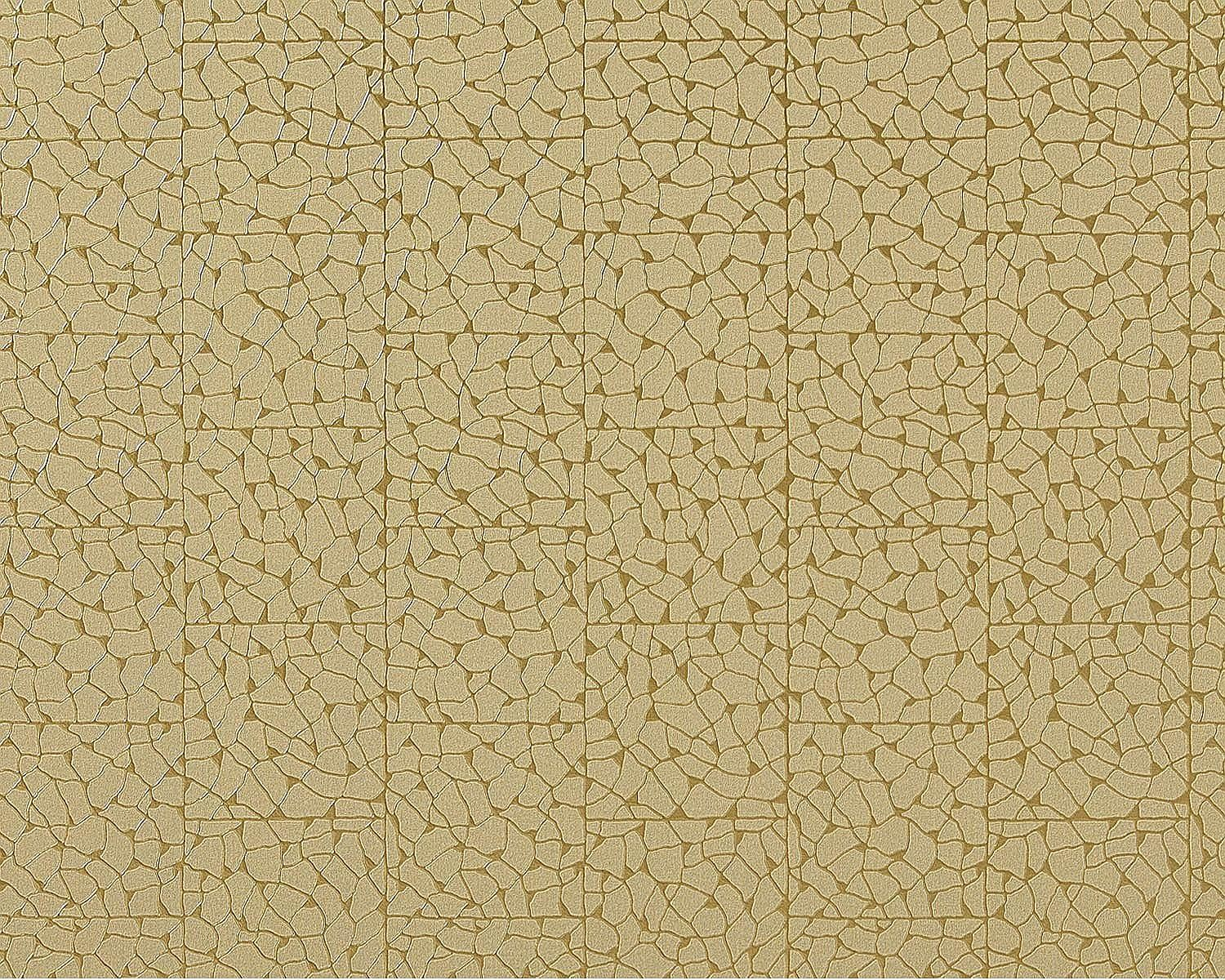 Edem 928 38 Luxus Decor Vlies Tapete Mosaik Fliesen Grun Beige Gold