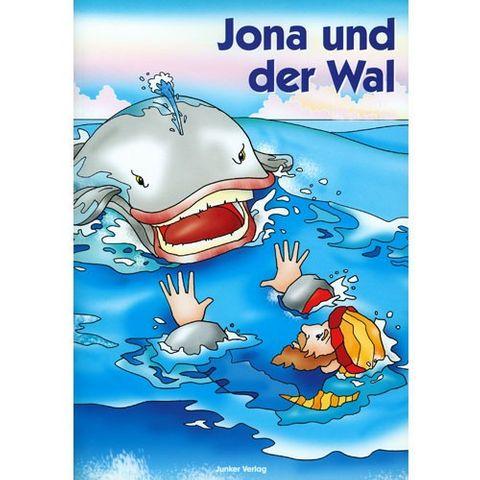 Biblische Geschichten Kindern erzählt - Dia-Mappe Jona und der Wal - 20 Dias mit Beleittext