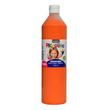 Piccolino Fingerfarbe Orange, 750 ml Flasche Bild 1