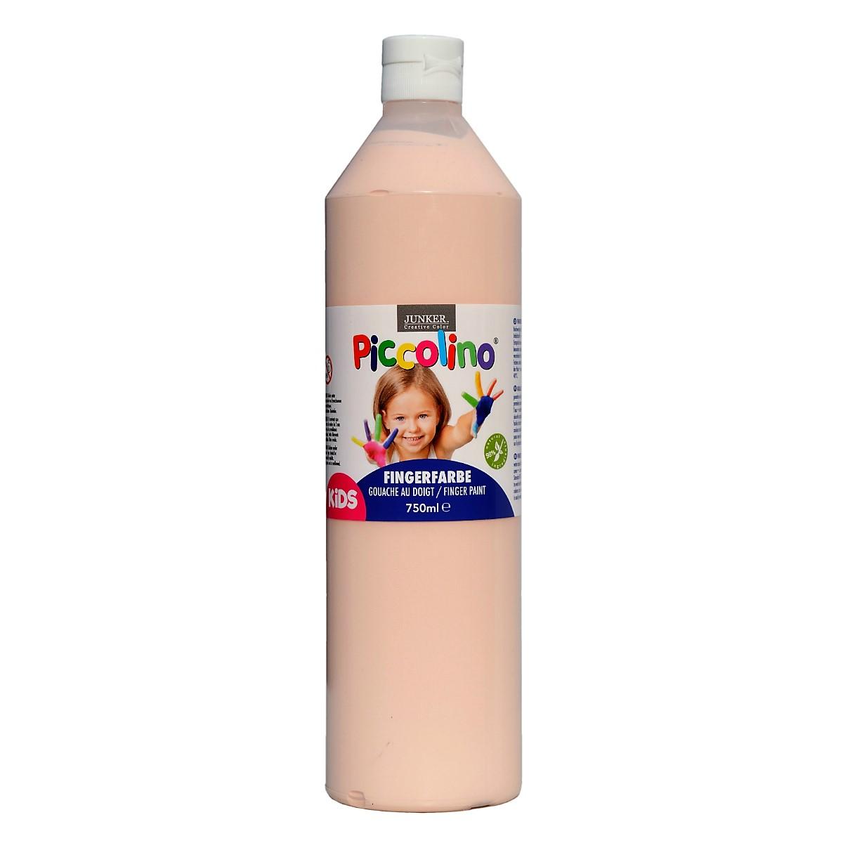 Piccolino Fingerfarbe Hautfarben, 750 ml Flasche