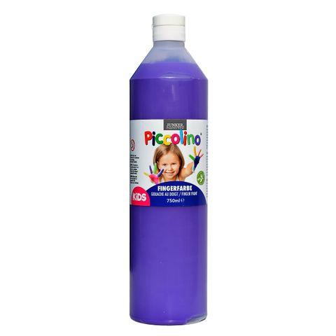 Piccolino Fingerfarbe Violett, 750 ml Flasche – Bild 1