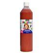 Piccolino Fingerfarbe Braun, 750 ml Flasche
