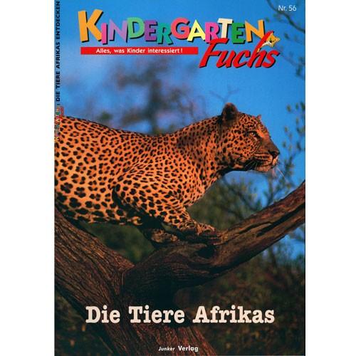 kindergarten fuchs lernheft inkl arbeitsbl tter nr 56 tiere afrikas. Black Bedroom Furniture Sets. Home Design Ideas