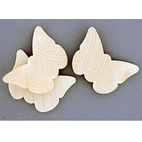 Holzschmetterlinge 10 Stück Schmetterlinge Aus Holz Zum Bemalen 4