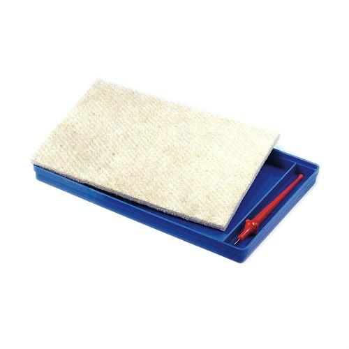 Prickelschale 20,5x15,5cm - stabile Schale für Prickelfilz & Prickelnadeln