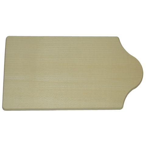 Frühstücksbrettchen Holz - Schneidebrett 22x12cm - ideal zum Selbstgestalten – Bild 1