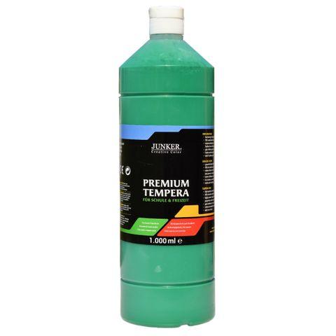 Piccolino Schulmalfarbe 1000ml dunkelgrün - Premium Color - Gouache Schultempera – Bild 1