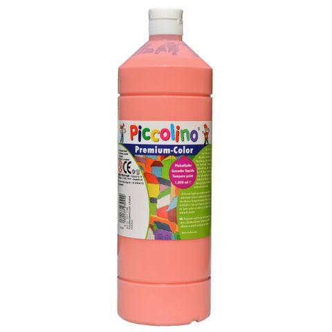 Piccolino Schulmalfarbe 1000ml hautfarben - Premium Color - Gouache Schultempera – Bild 1