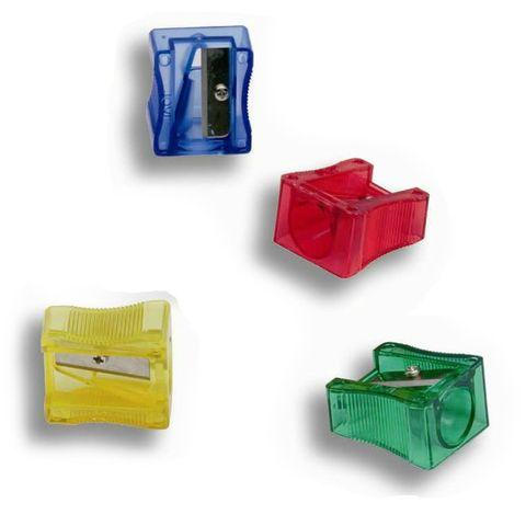 Anspitzer für dicke Wachsmalstifte bis 12mm, 1 Stück – Bild 1