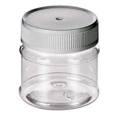 PET Kunststoffdose mit Deckel, transparent glasklar 50ml - Aufbewahrungsdose