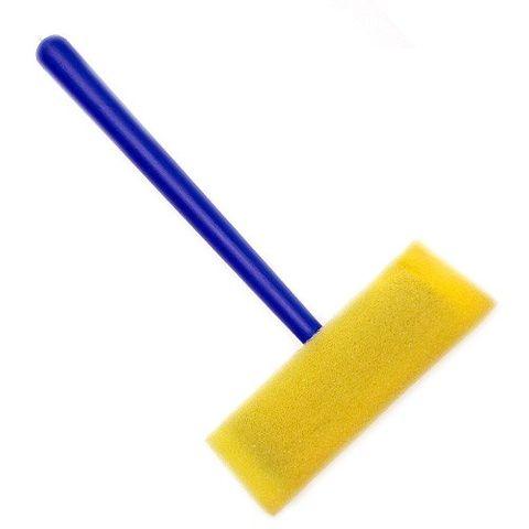 Schwammpinsel 25mm - Schaumstoffpinsel, ideal für Regenbogen-Farbschalen