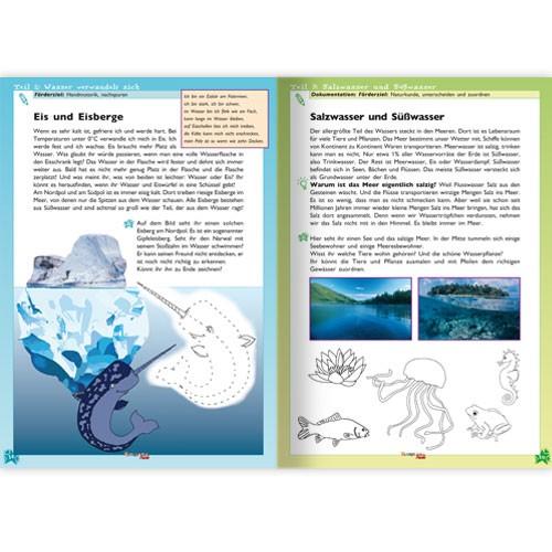Kindergarten-Fuchs - Lernheft inkl Arbeitsblätter Nr 68: Wasser
