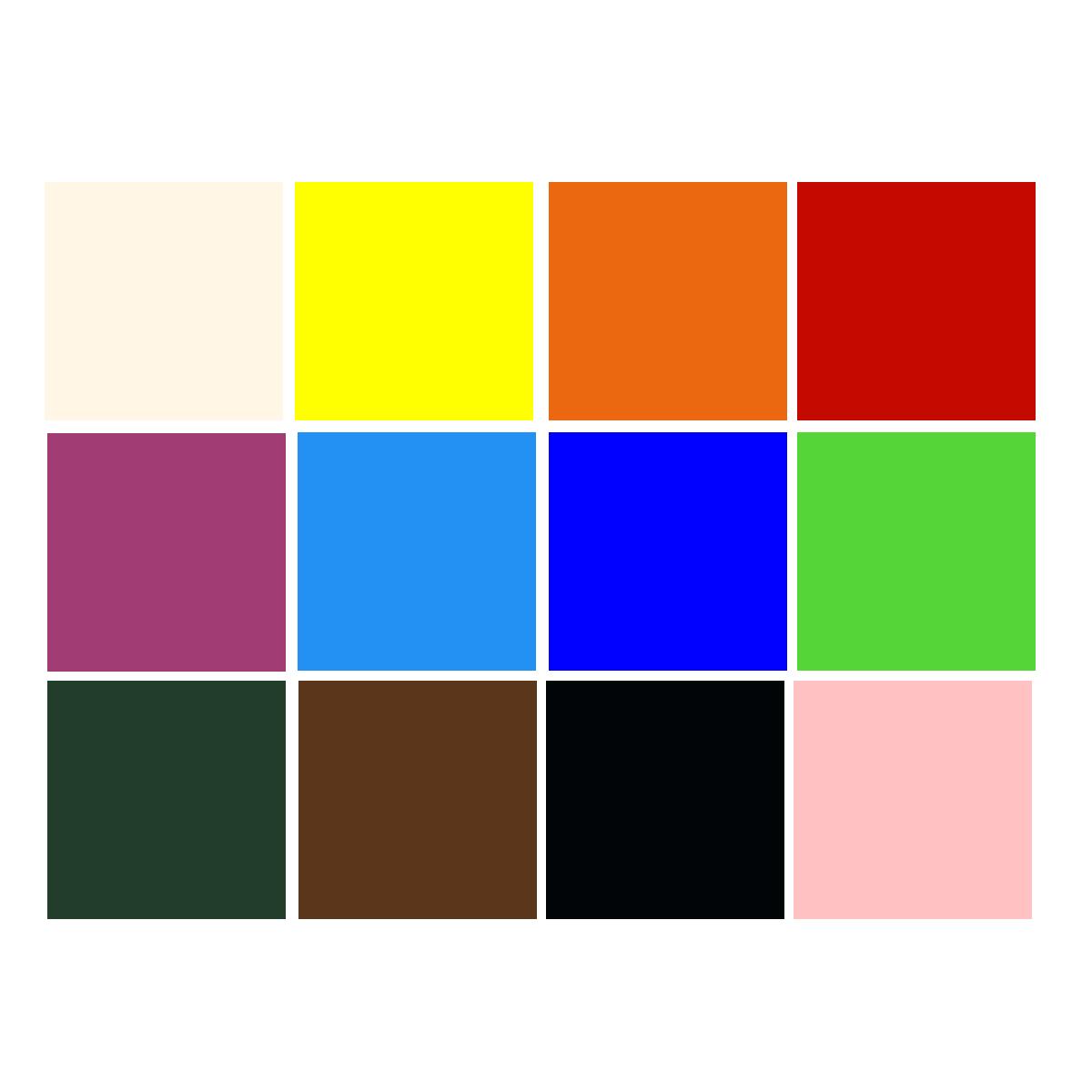 Schulmalfarben Set 12x1000ml - JUNKER Premium Tempera für Schule & Hobby