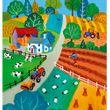 Elternbrief-Mantel Sommer Auf dem Lande A4/A5, 100 Stück Bild 2