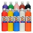 Piccolino Fingerfarben Set 10x750ml - ideal für Kindergarten Kita Therapie