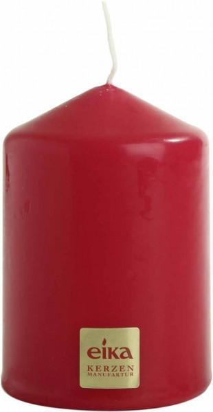 Eika Kerzen.Eika Kerzen Stumpenkerzen Rot 80 60mm 4er Packung