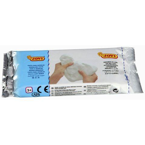 Modelliermasse lufttrocknend 250 g weiß - lufthärtend ohne Brennen