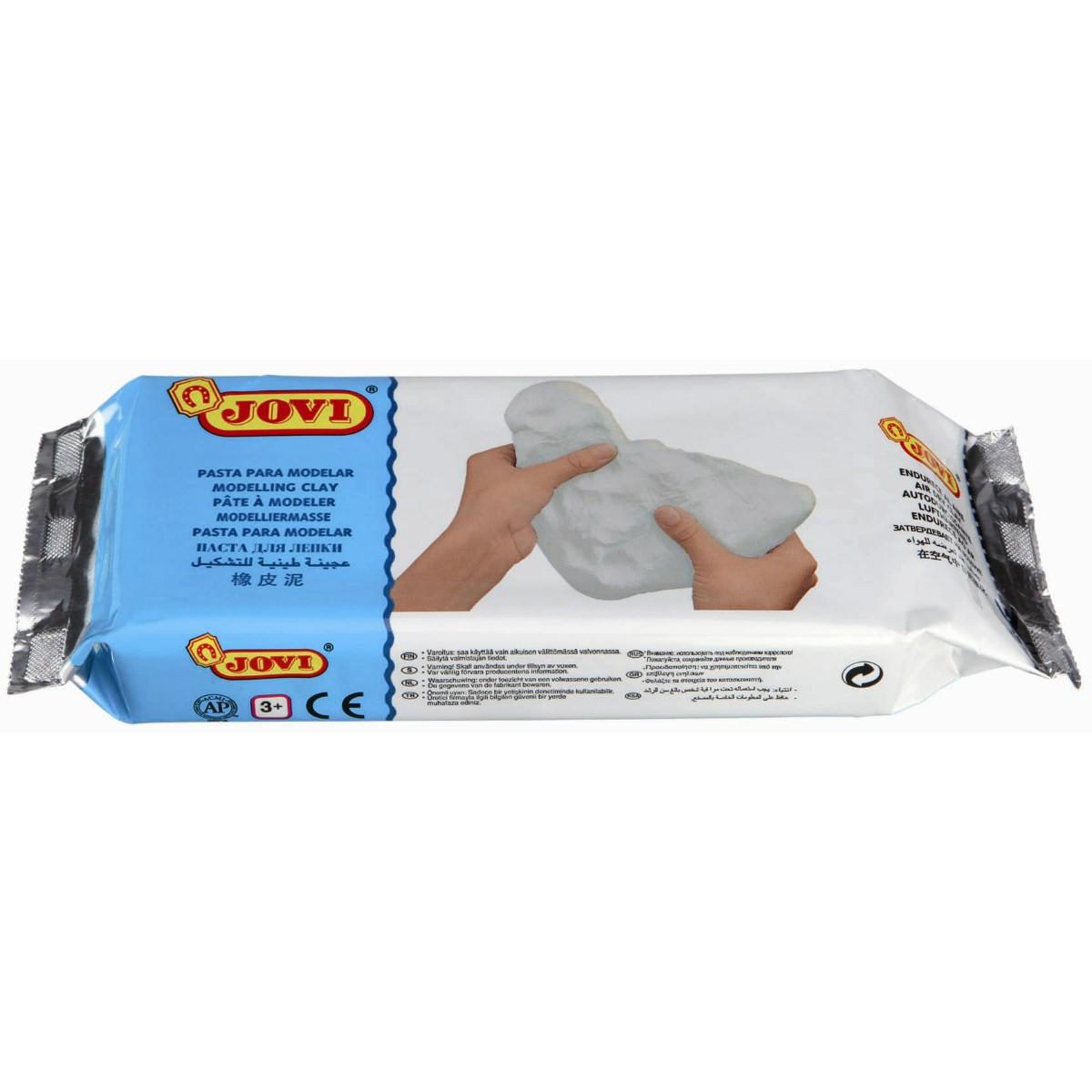 Modelliermasse lufttrocknend 500 g weiß - lufthärtend ohne Brennen