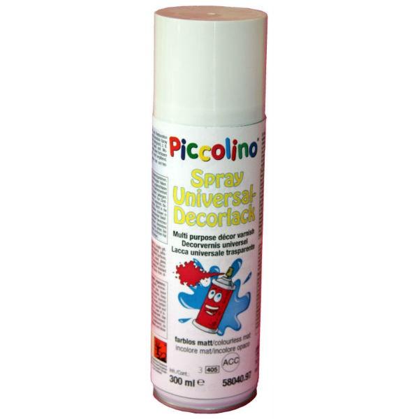 Piccolino Universal Decor-Lack Acryl matt, Spray 300ml - farblos zum Aufsprühen