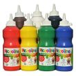 Piccolino Kindermalfarben Set 7x500ml - Kindergarten Malfarben - Schulmalfarben Set 001