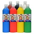 Piccolino Fingerfarben Set 7x750ml - ideal für Kindergarten Kita Therapie