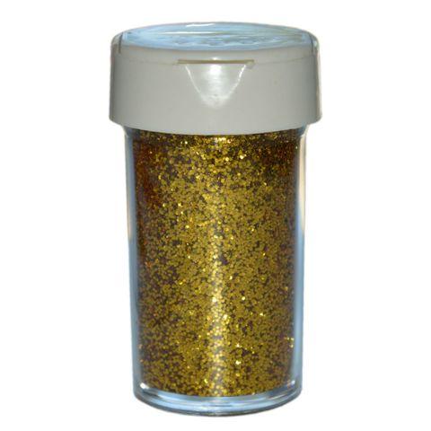 Deko-Glitter Gold 20g - Streu Glitzer / Glimmer zum Basteln – Bild 1