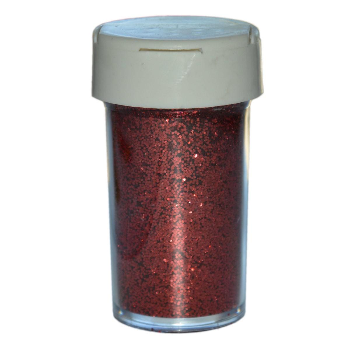 Deko glitter rot 20g streu glitzer glimmer zum basteln for Deko zum basteln