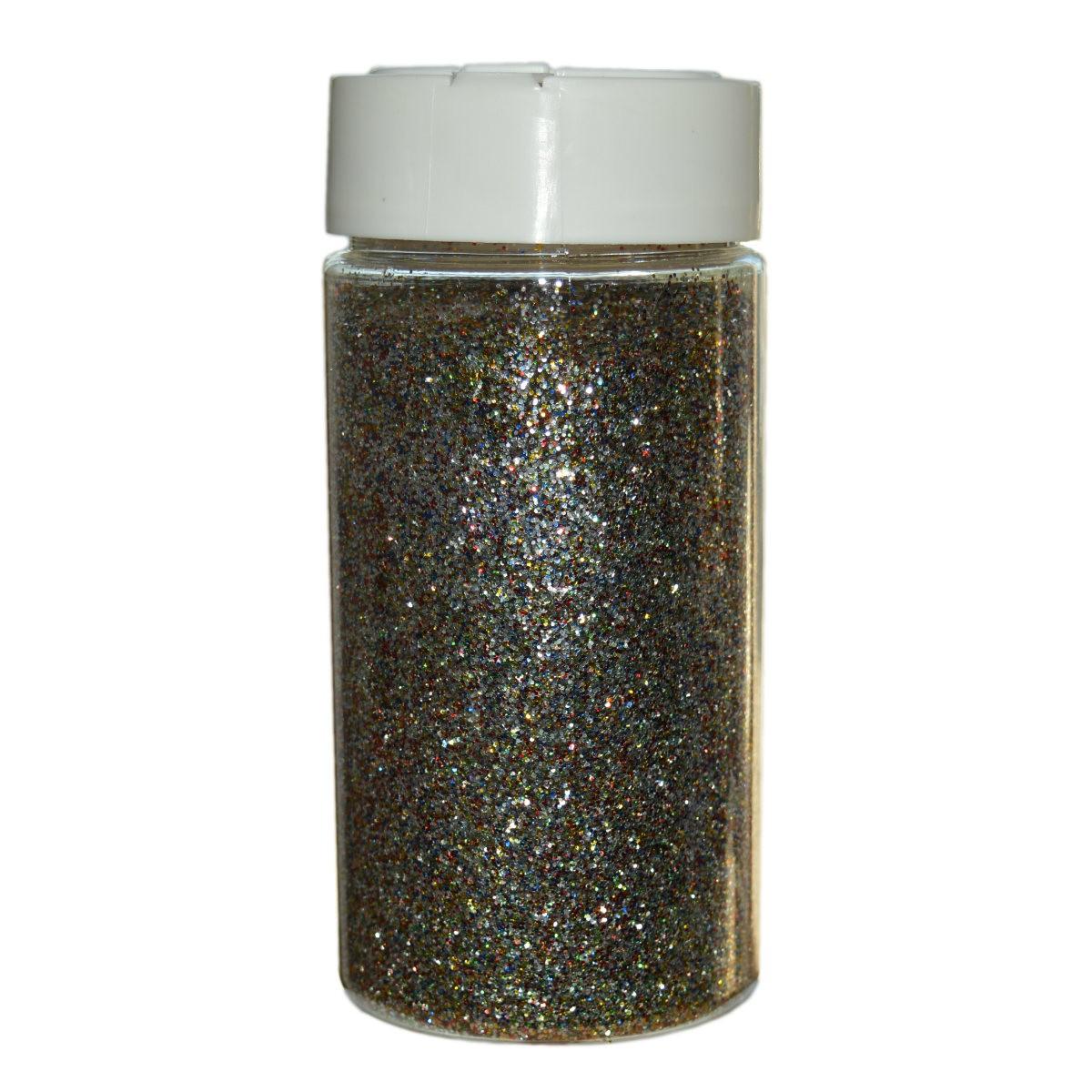 Glitter Multicolor Großpackung - 250g Streudose - Deko Glitzer/Glimmer zum Basteln